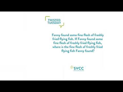 Twisted Tuesday Fanny & The Flying Fish