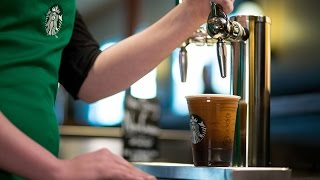 Starbucks Is Giving Its Iced Coffee A Nitrogen Boost