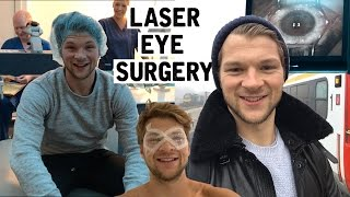 Watch me have laser eye surgery