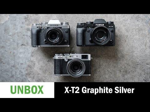 Unboxing: Fujifilm X-T2 Graphite Silver Edition