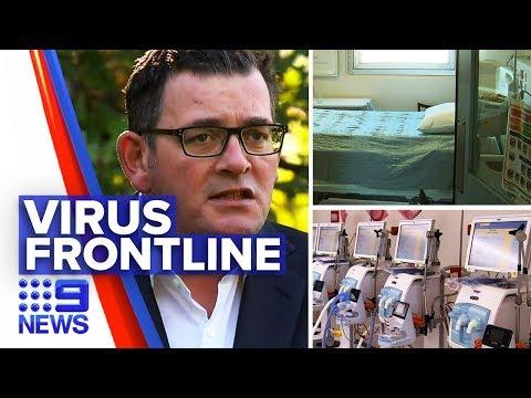 Coronavirus: Death Toll Rises Amidst Tough Lockdowns | Nine News Australia