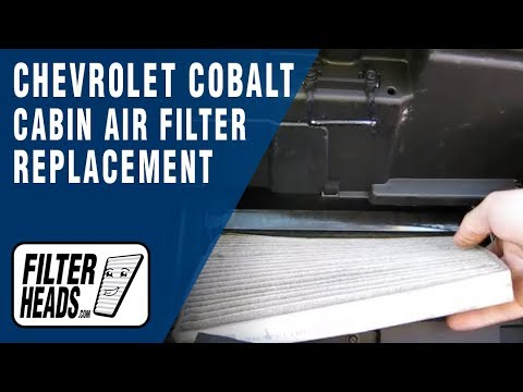 chevrolet cavalier 2003 cabin air filter