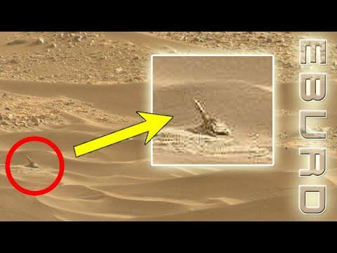 Triceratops am Mars entdeckt? Für mich siehts aus wie Einhorn Link zum NASA Bild gibts auf Telegram