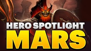 Dota 2 Hero Spotlight - Mars thumbnail
