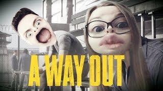 """""""Dziura za kiblem! WIEJEMY!"""" #2 A Way Out z KOSmo"""
