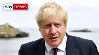 PM Boris Johnson says the chances of a Brexit deal are 'improving'