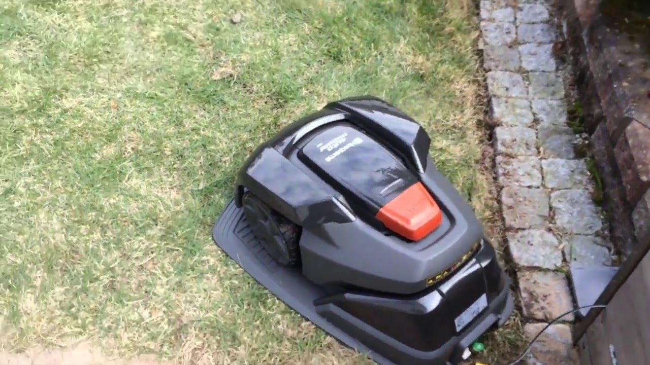Automower 105 -asennus - YouTube