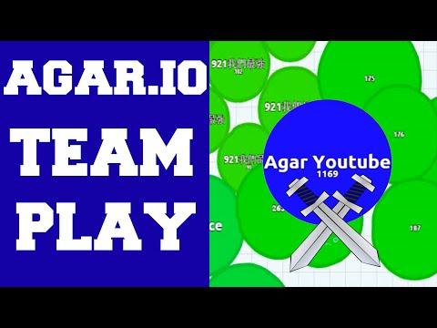 I am Here To Save My Team! ★ Amazing Agar.io Team Play Video ! ★