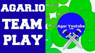 I am Here To Save My Team! ★ Amazing Agar.io Team Play Video ! ★