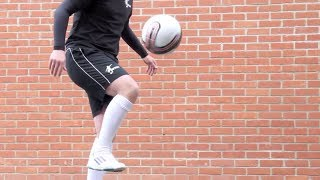 knee akka learn panna street football skills tutorial