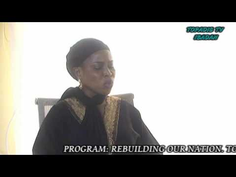 TOPADIS TV. PROGRAM;REBUILDING OUR NATION. TOPIC; INFLUENCE OF RELIGION ON THE SOCIETY