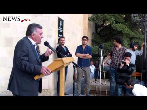 Three parties hold rally in Abovyan