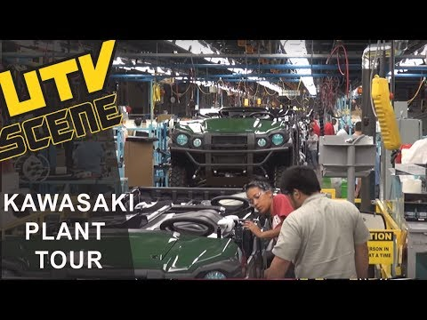 Kawasaki Plant Tour
