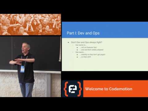 Life of an SRE at Google - JC van Winkel - Codemotion Rome 2017