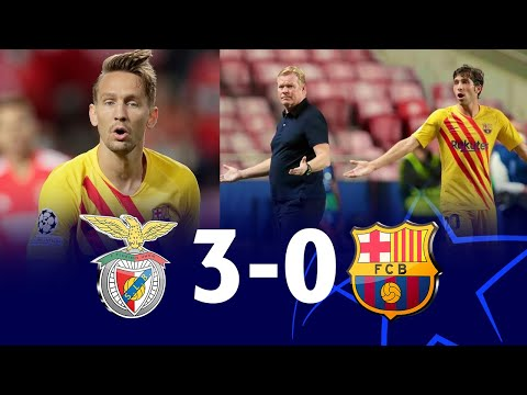 Benfica vs Barcelona (3-0), Champions League, Group Stage 20/21 - MATCH REVIEW