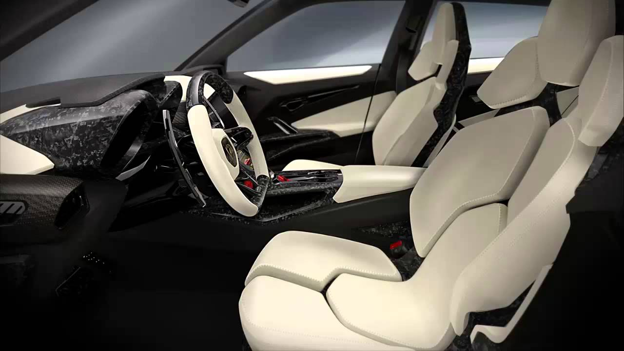 Car Interior 2012 Lamborghini Urus Suv Concept Youtube