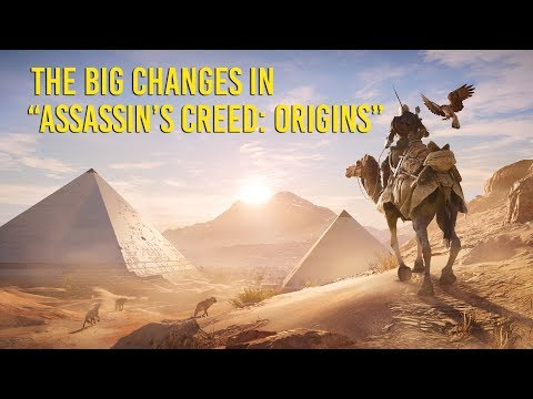 """The big changes in """"Assassin's Creed: Origins"""""""