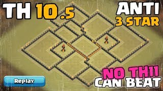 Town Hall 10.5 War Base   Anti Air   May Update   TH10.5 Defense/Push Base   Clash Of Clans
