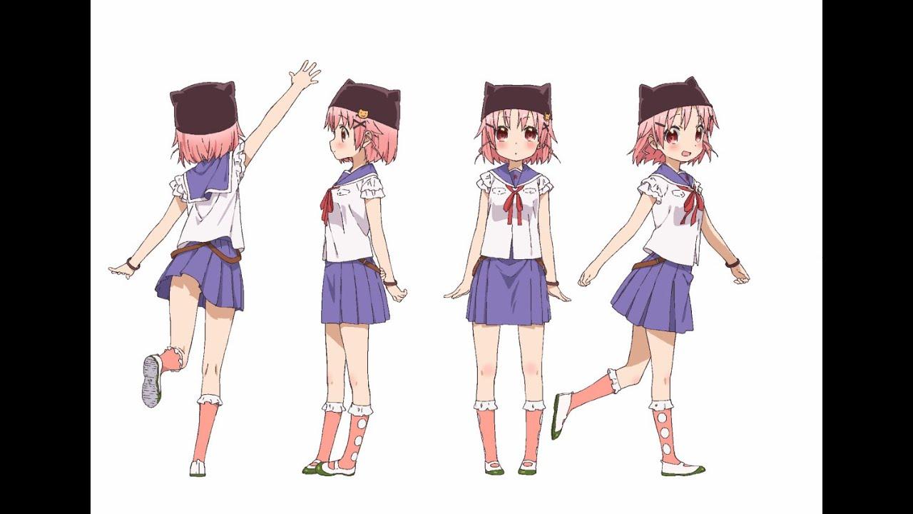 【がっこうぐらし】設定画集【ゾンビ】Gakkou Gurashi character references , YouTube