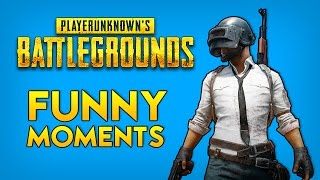 PlayerUnknown's Battlegrounds Funny Moments Gameplay - Full Game Fail Highlights! (PUBG Beta)