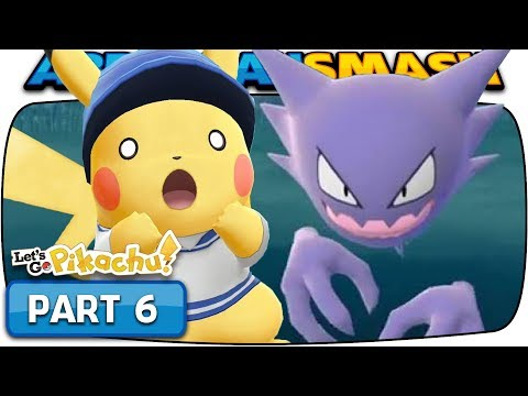 Pokemon Let's Go Pikachu & Eevee - Part 6: LAVENDER TOWN! (100% Walkthrough) thumbnail
