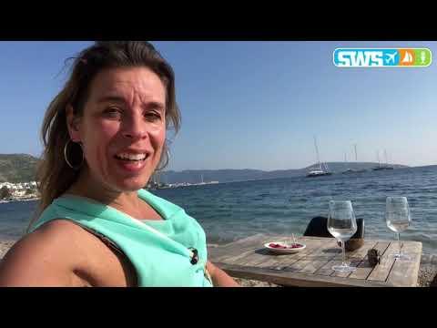 Op straat in Bodrum, het Saint Tropez van Turkije en blue cruise haven