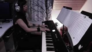 Coldplay  - Fix You - piano cover