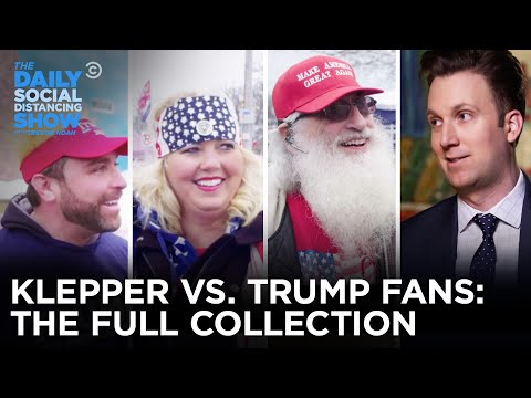Jordan Klepper vs. Trump Supporters: The Complete Collection   The Daily Social Distancing Show