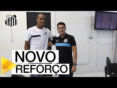 Luiz Felipe novo reforço do Santos FC