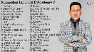 Kumpulan Lagu Ical D'Academy 3
