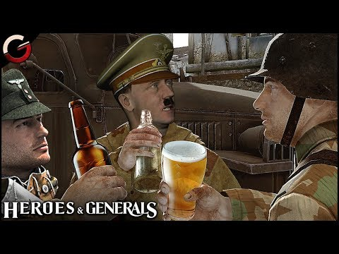 HITLER PLAYS Heroes & Generals | FUNNY HITLER PARODY & Epic Moments Gameplay Montage