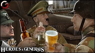 HITLER PLAYS Heroes & Generals   FUNNY HITLER PARODY & Epic Moments Gameplay Montage
