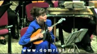 Домра - Вера Махан. И. Тамарин Концерт для домры, 1 ч.