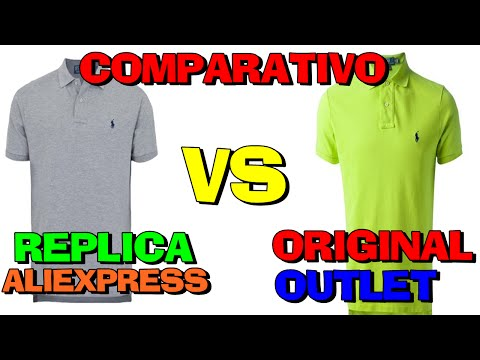 Review Comparativo Polo Ralph Lauren Original vs Aliexpress (PT-BR) HD
