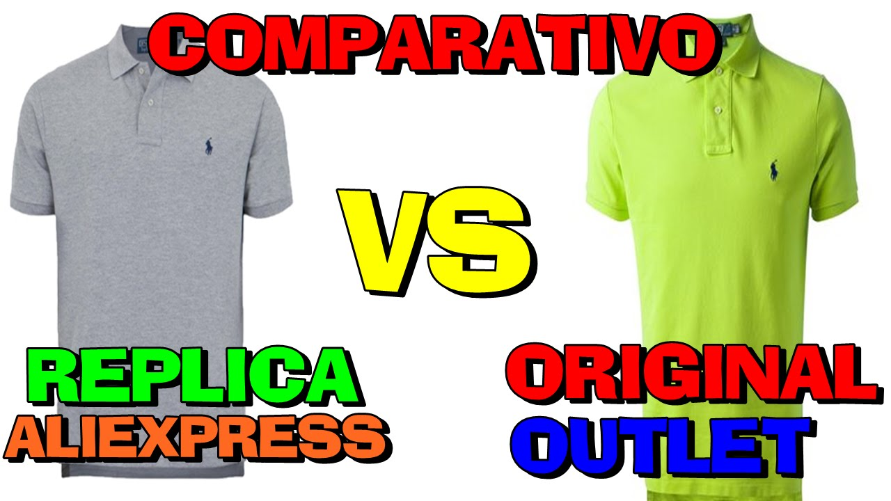 Review Comparativo Polo Ralph Lauren Original vs Aliexpress (PT-BR) HD -  YouTube ad1795197e0