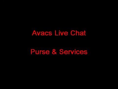 Avacs Live Chat Purse & Services