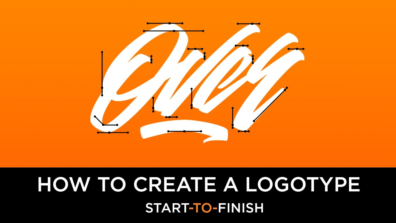 How To Create A Logotype [Start-To-Finish] - YouTube