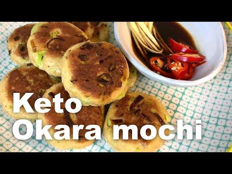 How To Make Keto Okara Pancakes  | Keto Vegan