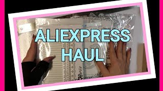 ???? ALIEXPRESS HAUL - DT PACKAGE WITH ALINACRAFTS ????