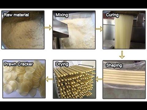 Commerical Prawn Cracker Making Machine|krupuk udang Machine|Kurupok Chip Making Machine