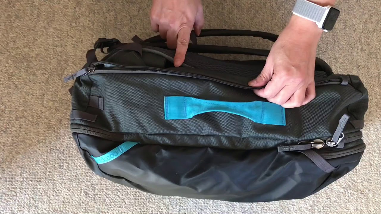 Cotopaxi Allpa Travel Pack Review - YouTube efa9fee54494b