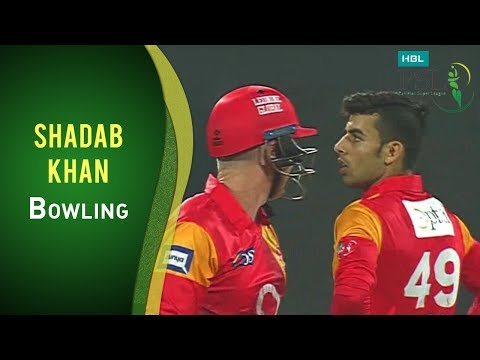 PSL 2017 Match 7: Islamabad United v Quetta Gladiators - Shadab Khan Bowling thumbnail