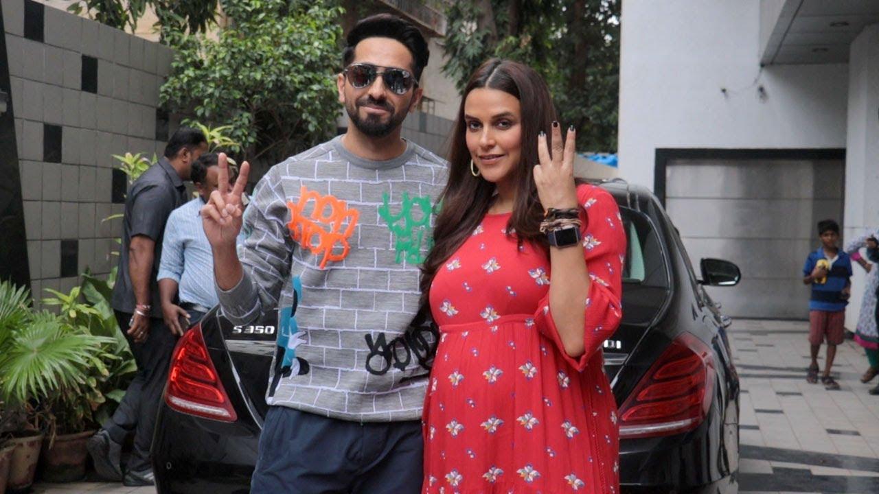 PREGNANT Neha Dhupia And Ayushmann Khurrana Spotted At The First Recording Of #NoFilterNeha Season 3