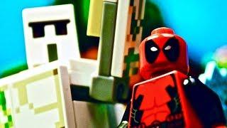 Lego Iron Golem - Deadpool In Minecraft