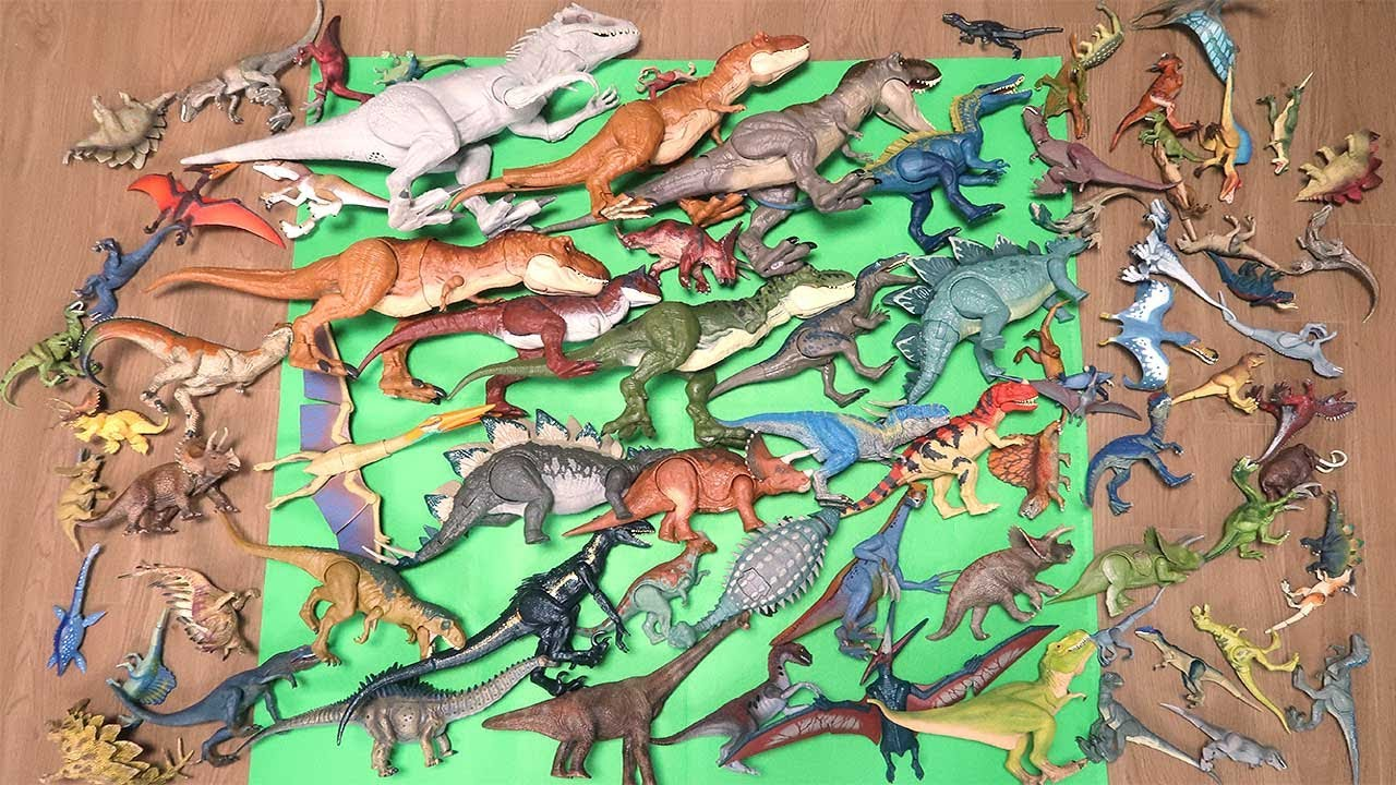 100 Dinosaurs! Jurassic World, Schleich, Takara Tomy 2019-2020 Dinosaur Toys For Kids