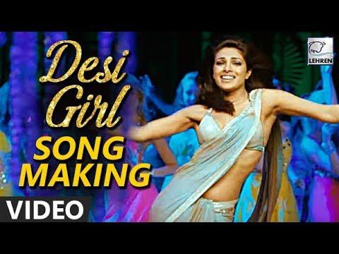 Dostana: Desi Girl Song MAKING VIDEO | Priyanka Chopra, John Abraham, Abhishek Bachchan