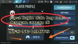 cara log in dan log out dengan aman tanpa menghapus data game   nfs no limits