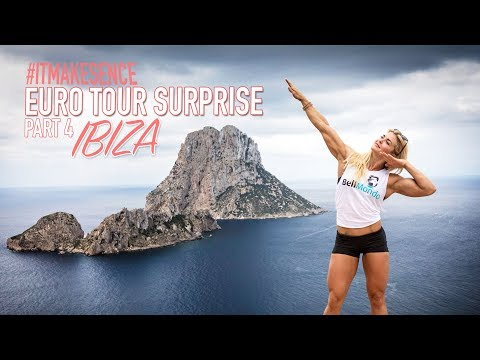 Brooke Ence -  Euro Tour Surprise Part 4 : Ibiza