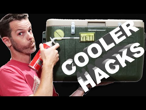 Better Than a Yeti Cooler? Insulate your cooler cheap!