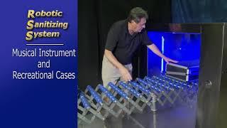 Robotic Sanitizing System